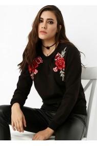 Hanorac Bambina Mia KR0611-SIYAH negru