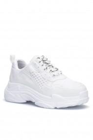 Pantofi sport Dark Seer SLN99BEYAZX40 alb