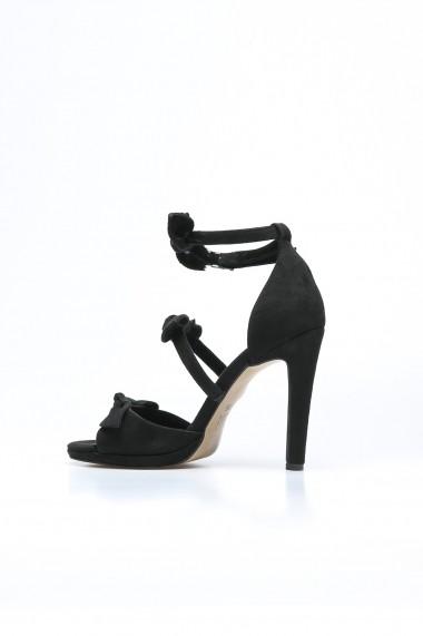 Sandale cu toc Rovigo 388922 negru