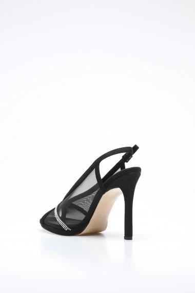 Sandale cu toc Rovigo 389918 negru