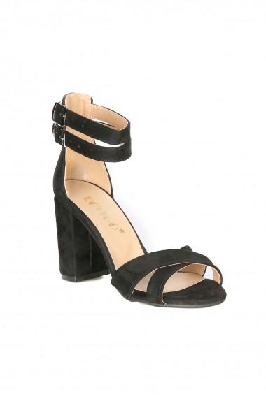 Sandale cu toc Rovigo 900252 negru