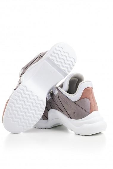 Pantofi sport Tonny Black SIYA Gri-Bej