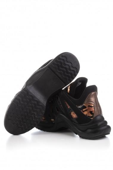 Pantofi sport Tonny Black SIYA Print
