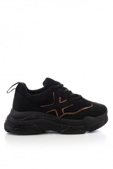 Pantofi sport Tonny Black XOI-1 Negru