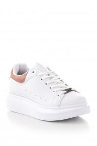 Pantofi sport casual Tonny Black ALX-1 Alb