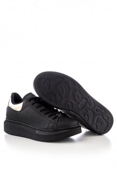 Pantofi sport casual Tonny Black ALX-1 Negru