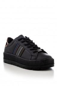 Pantofi sport casual Tonny Black TB237-1 Negru