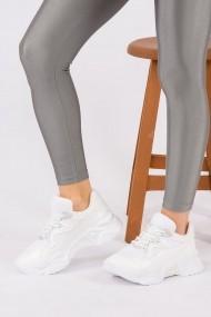 Pantofi sport Fox Shoes H583210608 alb