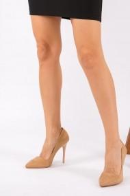 Pantofi cu toc Fox Shoes 8922151902 maro