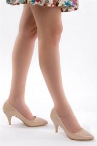 Pantofi cu toc Fox Shoes A922151108 bej
