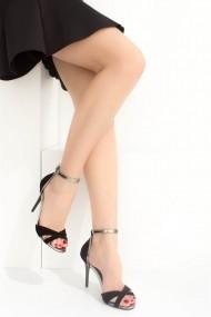 Pantofi cu toc Fox Shoes B922113802 negru