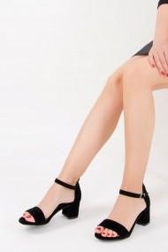 Pantofi cu toc Fox Shoes F283286502 negru