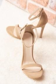 Pantofi cu toc Fox Shoes H283290002 bej