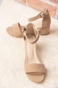 Pantofi cu toc Fox Shoes H303300002 bej