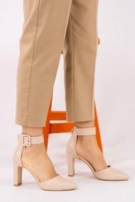 Pantofi cu toc Fox Shoes H820031909 bej