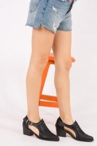 Pantofi cu toc Fox Shoes H996032209 negru