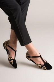Balerini Fox Shoes B726881802 animal print