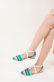 Balerini Fox Shoes D726537304 verde