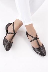 Balerini Fox Shoes D726537307 argintiu