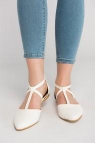 Balerini Fox Shoes D726537309 alb