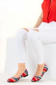 Balerini Fox Shoes F726803204 rosu