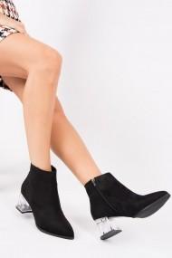 Ghete Fox Shoes G494996102 Negru
