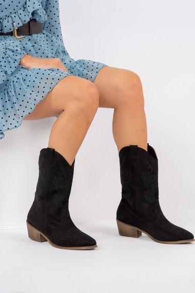 Ghete Fox Shoes G267141002 Negru