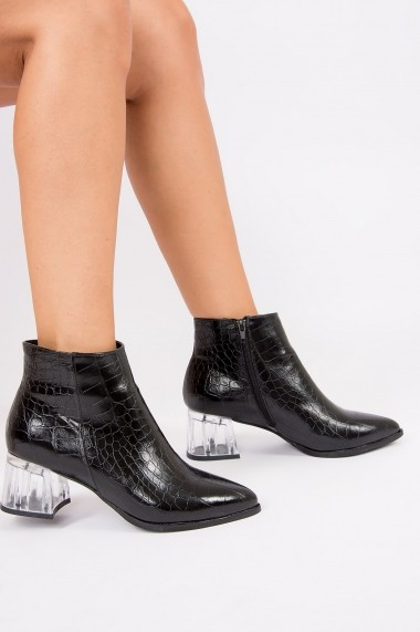Ghete Fox Shoes G494996111 Negru