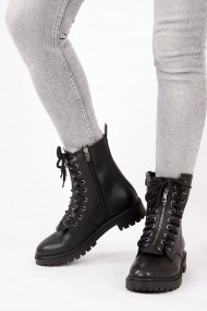 Ghete Fox Shoes G973188309 Negru