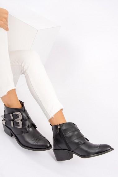 Ghete Fox Shoes G292650609 Negru