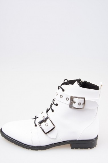 Ghete Fox Shoes G288049909 Alb