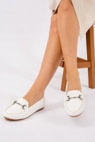 Pantofi sport casual Fox Shoes F757007009 alb