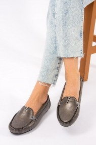 Pantofi sport casual Fox Shoes F757009001 argintiu