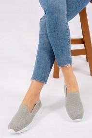 Pantofi sport casual Fox Shoes H242266104 gri