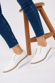 Pantofi sport casual Fox Shoes H996090009 alb