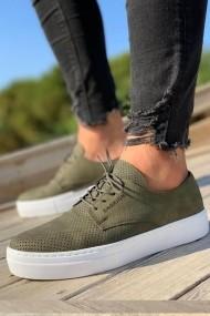 Pantofi sport Chekich CH061I15489HK kaki