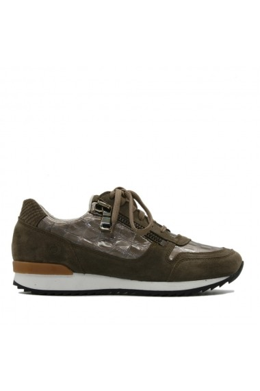 Pantofi sport Nappo tip sneakers kaki