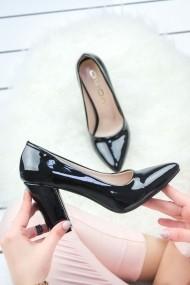 Pantofi cu toc AWON 8A73001SIR negru