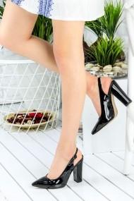 Pantofi cu toc AWON 8A74009SIR negru