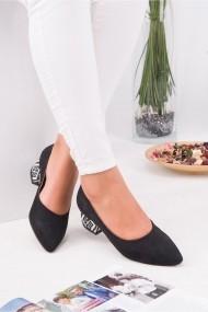 Pantofi cu toc AWON 8A70001SIS negru