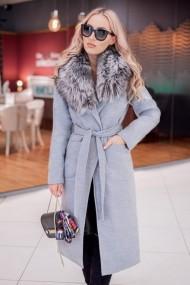 Palton Chic Diva Brigitte Gri