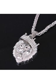 Colier MBrands 065 Argintiu