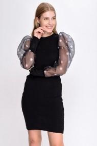 Rochie Madame Vogue ALC-Y2896 negru
