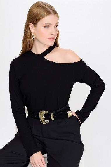 Bluza Madame Vogue ALC-017-155-WS negru - els