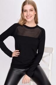 Bluza Madame Vogue ALC-017-006-QA negru