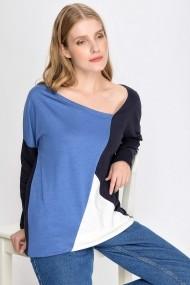 Bluza Madame Vogue ALC-015-185-TW albastru