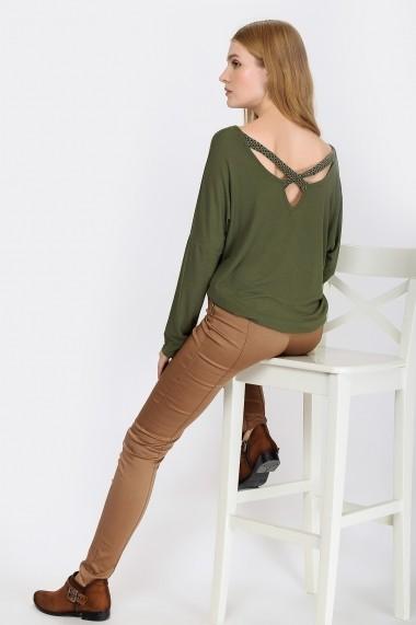 Bluza Madame Vogue ALC-016-145-C kaki - els