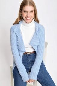 Cardigan Madame Vogue ALC-016-141-A albastru
