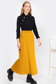 Fusta lunga Madame Vogue ALC-Y2922 galben