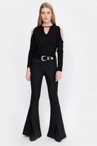 Pantaloni Madame Vogue ALC-Y2917 negru